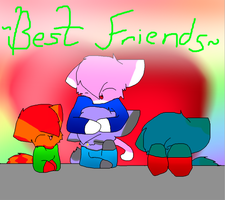 Best friends forever! by JJ-cat