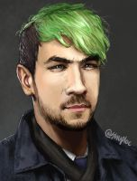 JackSepticEye portrait by Shuploc