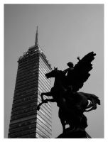 B and W Mexico City by zikex