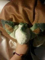 Leafeon OOAK plushie wip by Ambercatlucky2