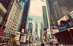 Times Square by PortraitOfaLife