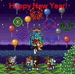 Happy New Year Sprite Pic by Envytheskunk