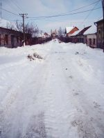 Colored street in white by pety-ytep