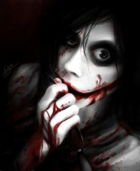 Jeff the Killer [Grip] by Bakuhatsu-Dei