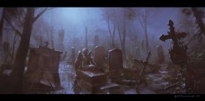 Graveyard by ChrisRosewarne