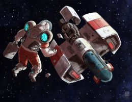Space Wreck by Dadrick