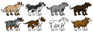 Canine Point Adopts by FreeAndRandom