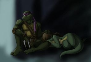 TMNT: Hunted by Ty-Chou