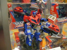 BotCon '08: Optimus Prime by Sol-Domino