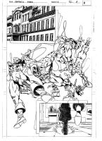 FANTASTIC FORCE 4 pag.6 pencils by PinoRinaldi