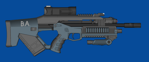 Blue Arms C.A.S M26A2 by andyshadow26