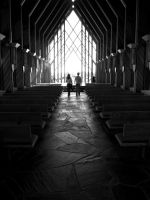 Apporaching the Altar by Debellos
