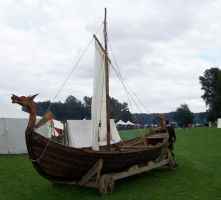 North, Viking Ship Replica by ValerianaSTOCK