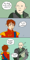 Solas the black knight by MademoiselleMaple