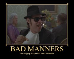 Bad Manners by Selenalunarox