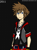 Dream Drop Distance - Sora by DivineHeartz