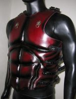 Muscled Leather Breastplate by Azmal