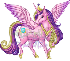 MLP Event - Princess Cadance by QilinDynasty