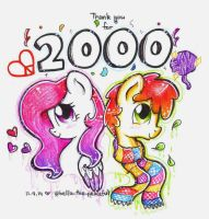 2000 followers! (On IG) by Iluvvanellope