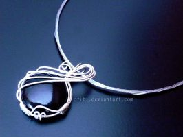 .:Onyx Necklace:. by oribi