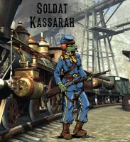 Soldat Kassarah by MarionPoinsot34