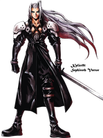 Sephiroth Vector by Xplict91