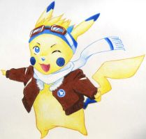 Design a Chu: Fly High Pika by Izusibiki