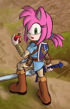 Amy of the wild by Zack113