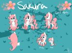 New Sakura Reference Sheet by MiF-Sakura