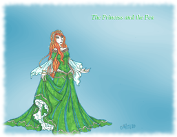 Fairy Tales: Princess and Pea by HumanStick