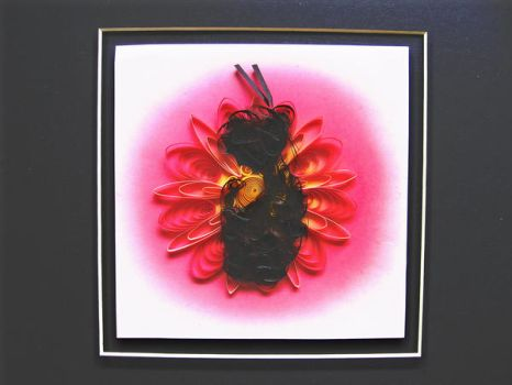Geisha Silhouette_Quilling by eidatwong