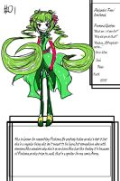 Ref:Alter-Ego 1 by The-Pink-Green-Chibi