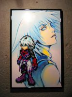 Perler Dark Riku (Kingdom Hearts) by Dlugo1975