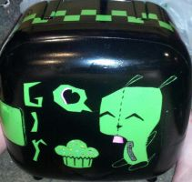 Gir Mini Fridge by paintmeaperfectworld