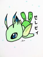 Colored Celebi by TheRierie