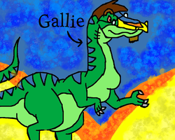 Gallie the Rainbow Face remake by conlimic000
