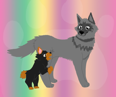 :PC: Fuzzy350 (lineless piece) by Ieafeon