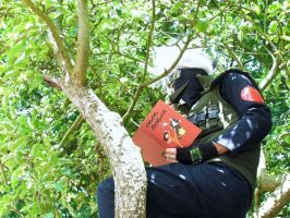 Ninja Hidden In The Leaves 2 by TheManOfManyFaces