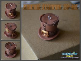 Minaiture Steampunk Top-Hat by Dabstar