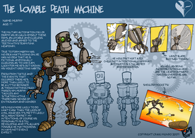 The Lovable Death Machine by CyrilTheWizard