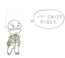 He's Ghost Rider. by Author-Goddess