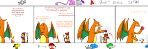 Charizard's cup of care