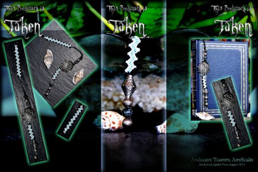 TAKEN - Bookmark Spider Dew by Andecaya