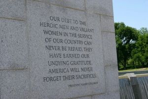 WWII Memorial - Our debt.. HST by xFadingxFaithx