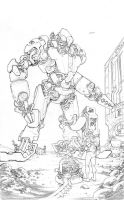moon mech pencils by cliff-rathburn