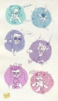 Trolls expressions PART 2 by LadyBrot