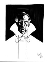 Quick Head Sketch Ras Al Ghul by Roger-Robinson