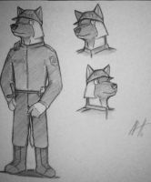 Auggie police outfit type 1 by topgae86turbo