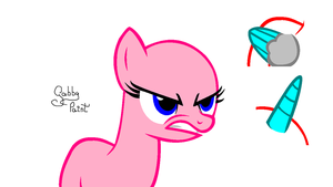 .:I'M MAD, CAN'T YOU SEE IT?!:. Mare BASE by GabbyPaint-PonyBases