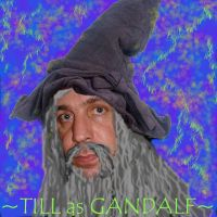 Till as Gandalf by rammstein-freak